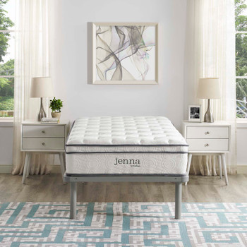 "Jenna 10"" Twin XL Innerspring Mattress MOD-6363-WHI"