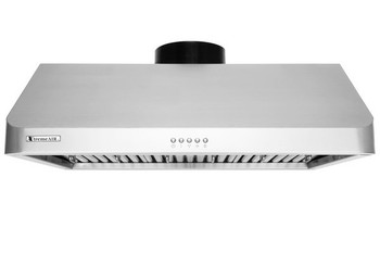 "XtremeAir Ultra Series UL10-U36, 36"" width, Baffle filters, 3-Speed Mechanical Buttons, Full Seamless, 1.0 mm Non-magnetic S.S, Under cabinet hood"