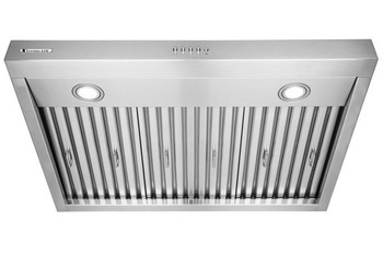 """XtremeAir Ultra Series UL11-U36, 36"""" width, Baffle filters, 3-Speed Mechanical Buttons, Full Seamless, 1.0 mm Non-magnetic S.S, Under cabinet hood"""