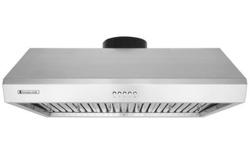 "XtremeAir Ultra Series UL13-U36, 36"" width, Baffle filters, 3-Speed Mechanical Buttons, Full Seamless, 1.0 mm Non-magnetic S.S, Under cabinet hood"