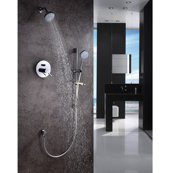 Dawn Grand Canyon Shower Set Complete with Trim/Valve/hand-shower DSSGN01C In Chrome