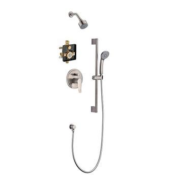 Dawn Everglades DSSES04BN Shower Set Complete with Trim/Valve/hand-shower In Brushed Nickel