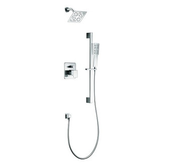 Dawn Acadia DSSAA01C Shower Set Complete with Trim/Valve/hand-shower In Chrome