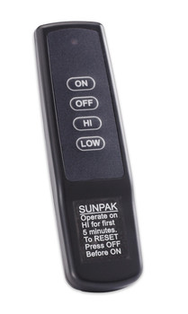 SUNPAK S34S-TSR 24,000 to 34,000 BTU Stailnless Steel INFRARED HEATER Model S34S-TSR