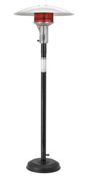 SUNGLO Black Natrual Gas Portable Heater Model A242B In BLACK