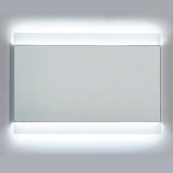 Dawn DLEDL36 LED Back Light Wall Hang Mirror with Matte Aluminum Frame and IR Sensor