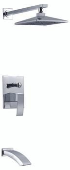 Tub & Shower Faucet In Brushed Nickel. N2080307CP-BN