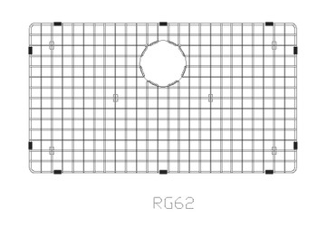 SFC Stainless Steel Bottom Grid-SBG-AP3322S-GRID