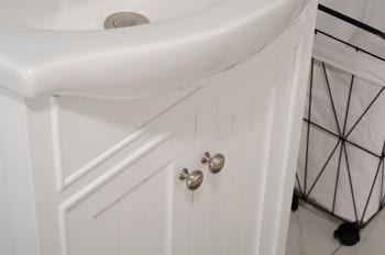 """Marian 24"""" Single Sink Vanity In White S05-24-WT"""