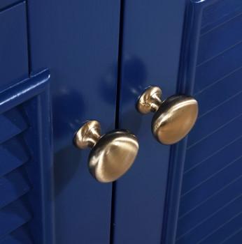 """Cameron 24"""" Single Sink Vanity In Blue S09-24-BLU"""