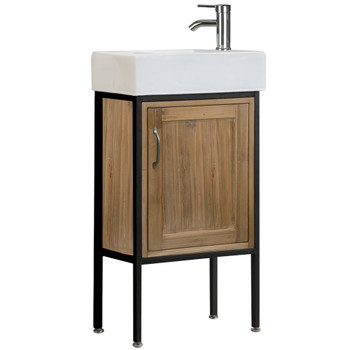 "Bristol 18.5"" Single Sink Vanity in Natural DEC4019S"