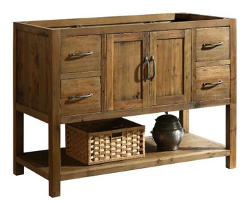 "Austin 48"" Vanity Base Only in Walnut DEC4006-B-CB"