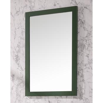 """Legion Furniture 24"""" x 36"""" Vogue Green Mirror WLF2436-VG-M"""