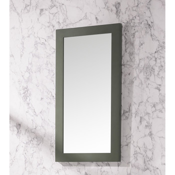 "Legion Furniture 16"" Pewter Green Mirror WLF9018-PG-M"