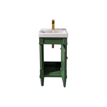 """Legion Furniture 18"""" Vogue Green Sink Vanity WLF9218-VG"""