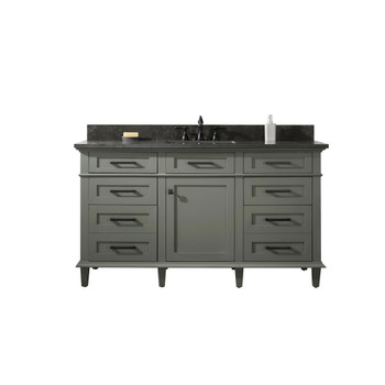 "Legion Furniture 60"" Pewter Green Finish Single Sink Vanity WLF2260S-PG"
