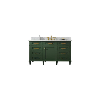 "Legion Furniture 60"" Vogue Green Finish Single Sink Vanity WLF2260S-VG"