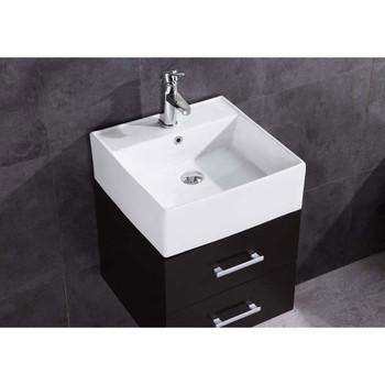 "Legion Furniture 18"" Bathroom Vanity without Mirror-PVC WT9188-18-PVC"