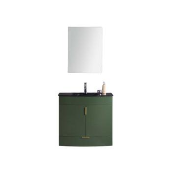 "Legion Furniture 36"" Vogue Green Bathroom Vanity - WTM8130-36-VG-PVC"