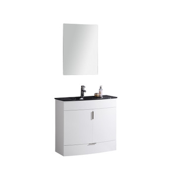 "Legion Furniture 36"" White Bathroom Vanity WTM8130-36-W-PVC"