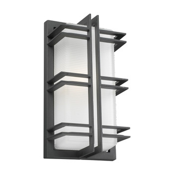 PLC 1 Light Outdoor Fixture Gulf Collection 8012 BZ In Broze Finish
