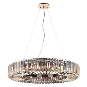 PLC 16 Light Pendant Marquee Collection 90045PC In Polished Chrome