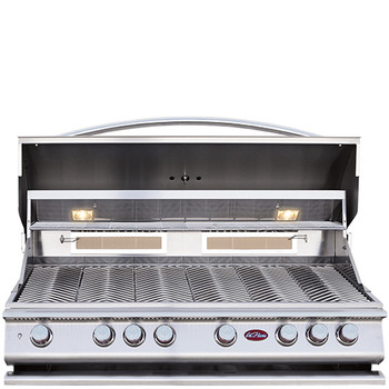 Cal Flame P Series 6 Burner  BBQ Build In gril with Lights - BBQ18G05  Propane Gas