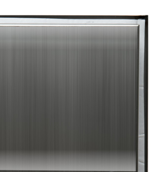 ALFI brand ABN1212-BSS 12 x 12 Brushed Stainless Steel Square Single Shelf Bath Shower Niche