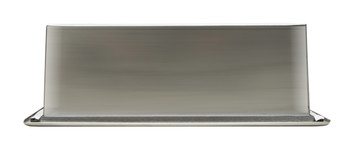 ALFI brand ABN1224-BSS 12 x 24 Brushed Stainless Steel Vertical Double Shelf Bath Shower Niche