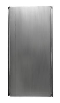 ALFI brand ABN2412-PSS 24 x 12 Polished Stainless Steel Horizontal Single Shelf Bath Shower Niche