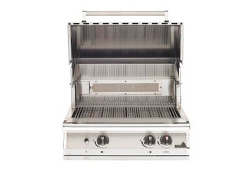 "PGS LEGACY S27RNG 30"" NEWPORT GOURMET GRILL with INFRARED ROTISSERIE BURNER and Kit-Natural Gas"