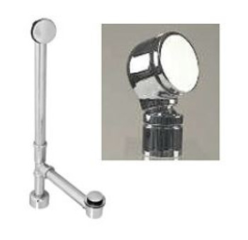 Clarke Overflow & Drain Kit-Free Standing-BWEOPC In Chrome Finish