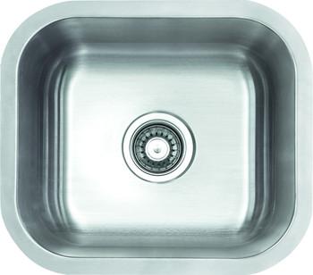 Undermount square Stainless Steel Sink Sink, SM1616