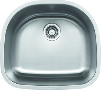 Undermount Stainless Steel Sink Sink, 18 Gauge. SM2318