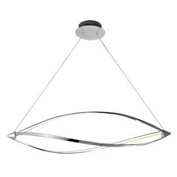 PLC1 Ceiling Tria Pendant 7300PC In Polished Chrome