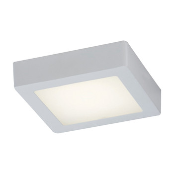PLC1 One light ceiling light from the Rubix collection 7410WH In White