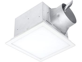 BreezSignature - SIG80-110ELED - 80/110 CFM Fan/Edge-lit Dimmable LED light with Adjustable Color Temperature