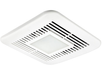 Delta BreezElite ELT80-110HLED Adj. High Speed 80/110 CFM, Dual speed fan w/adj Humidity sensor & dimmable LED light