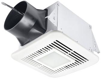 Delta BreezElite ELT80-110HLED Adj. High Speed 80/110 CFM, Dual speed fan w/adj Humidity sensor & dimmable LED light