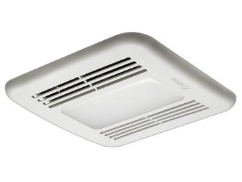 Delta BreezGreenBuilder GBR80LED - 80 CFM Single speed Fan/Dimmable LED Light