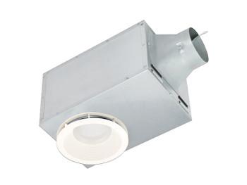 Delta BreezRecessed Series REC80LED - 80 CFM Single Speed Recessed Fan/LED Light & Night-light