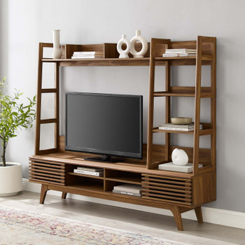 Render TV Stand Entertainment Center EEI-3863-WAL