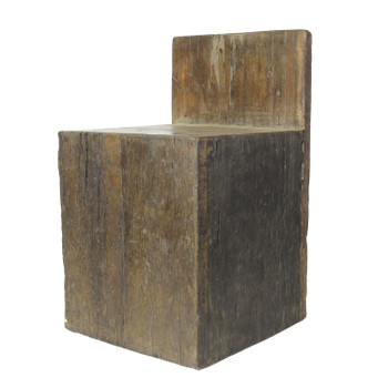 Milo Solid Reclaimed Wood Chair