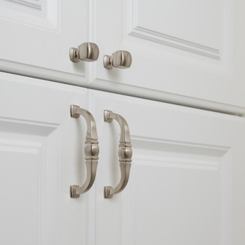 Jeffrey Alexander 128 mm Center-to-Center Brushed Oil Rubbed Bronze Katharine Cabinet Pull 188-128DBAC