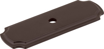 "Jeffrey Alexander 2-13/16"" Dark Bronze Knob Backplate B812-ORB"