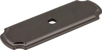 "Jeffrey Alexander 2-13/16"" Satin Bronze Knob Backplate B812-SBN"