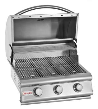Blaze 25-Inch 3-Burner Built-In Natural Gas Grill - BLZ-3-NG