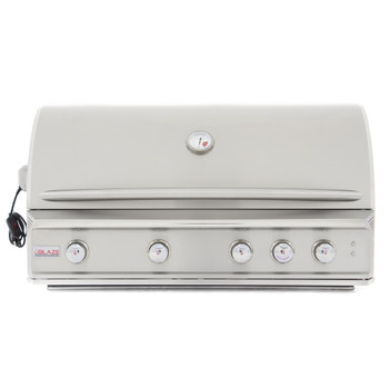 Blaze Professional 44-Inch 4-Burner Built-In Natural Gas Grill With Rear Infrared Burner - BLZ-4PRO-NG