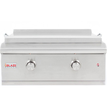 Blaze LTE 30-Inch Built-In Natural Gas Griddle With Lights - BLZ-GRIDDLE-LTE-NG