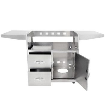 Blaze Grill Cart For Professional 3-Burner Grill - BLZ-3PRO-CART